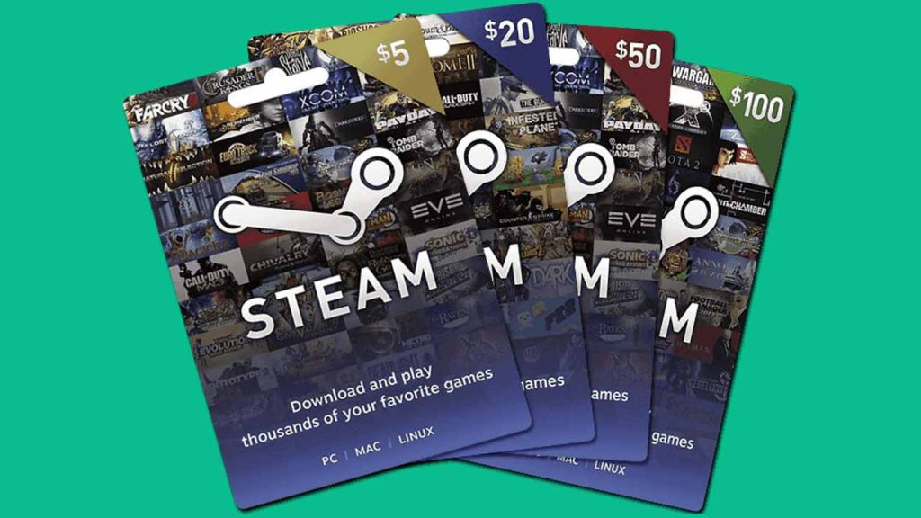 How To Get Free Steam gift cards
