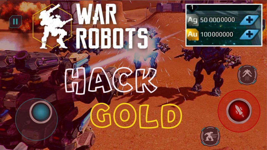 War Robots Hack & Unlimited Free Gold and Silver